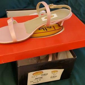 Ladies  size 7M Ballet slipper heals